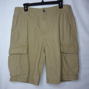 Mens Old Navy Khaki Cargo Shorts Size 33